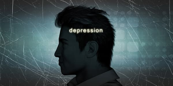 Depression over Maile Infertility