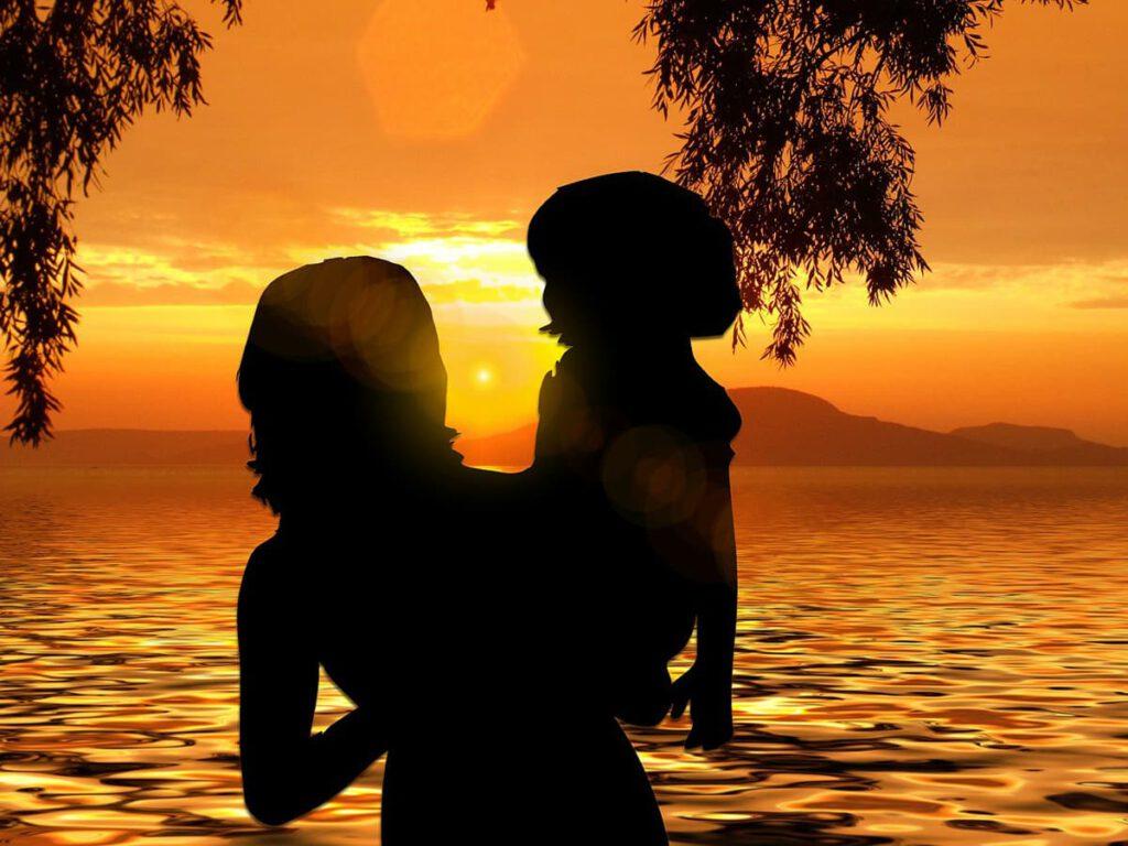 single adoptive mother